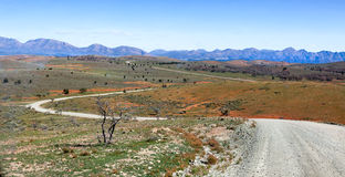 Scene in Flinders Ranges Australia Stock Images