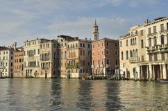 Scene at the Grand Canal Royalty Free Stock Photos