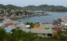 Scene of Grenada, West Indies, Caribbean Stock Photography