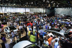 The scene of Guangzhou Autoshow Stock Photo