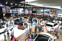 The scene of Guangzhou Autoshow Royalty Free Stock Photo