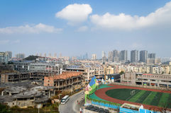 The scene of guiyang city Royalty Free Stock Image