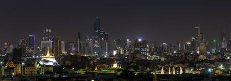 Scene of high-rise buildings of Bangkok Thailand Stock Photos