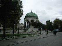 German Fountain Alman Çeşmesi - Istanbul, Turkey stock photo