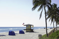Hollywood beach Stock Images