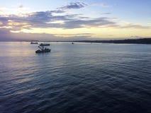 Scenes of central Honiara, Solomon Islands. Scene of Honiara from a cruise ship, Solomon Islands Stock Photos