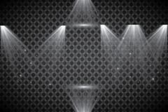 Scene illumination collection, transparent effects. Bright lighting with spotlights. Vector spotlight. Light effect Stock Images