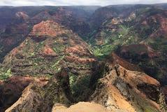 A scene from the island of Kauai on Hawaii stock photos