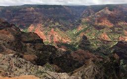 A scene from the island of Kauai on Hawaii stock photo