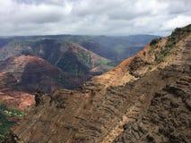 A scene from the island of Kauai on Hawaii royalty free stock photo
