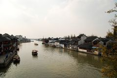 Scene of Jiang Nan Royalty Free Stock Photo