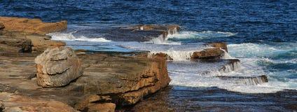 Scene at Maroubra Beach, Sydney Stock Photo
