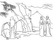 Scene of Mary Magdalene Stock Photography