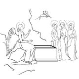 Scene of Mary Magdalene Stock Photo