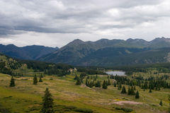 Scene From Molas Pass Royalty Free Stock Images