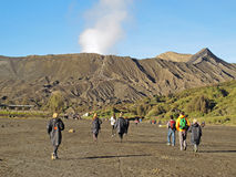 Scene at Mount Bromo Stock Photography