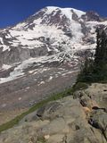 A scene from Mount Rainier in Washington state Royalty Free Stock Photography