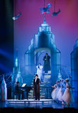 Scene from musical. Musical Theatre.Moscow Royalty Free Stock Image