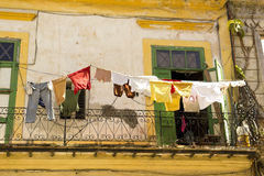 Daily scene in Old Havana stock image