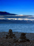Scene On Namsto Lake, Tibet Royalty Free Stock Image