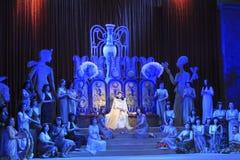 A scene from the opera Aida. DONETSK, UKRAINE - NOVEMBER 4, 2010: A scene from the opera Aida on November 4, 2010 in Donetsk National Academic Opera and Ballet Royalty Free Stock Images