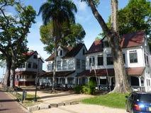 A scene from Parimaribo, Suriname Royalty Free Stock Photo