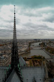 Scene in Paris, Royalty Free Stock Photography