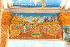 Scene a partire dalla vita di Buddha immagini stock libere da diritti