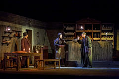 Scene from play The Cripple from Inishmaan Stock Photography