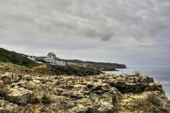 A Scene From Portugals Atlantic Coastline Stock Image