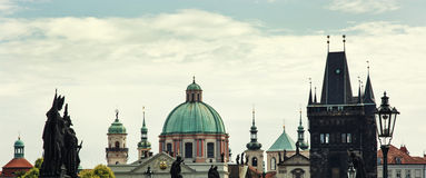 Scene of Prague Royalty Free Stock Photography