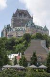 Scene of Quebec City Canada Royalty Free Stock Photos