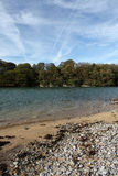 Scene at Red Wharf Bay, Anglesey, Wales Stock Photos