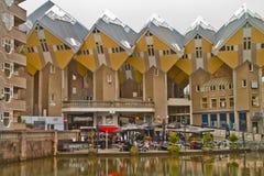 Scene in Rotterdam,Holland Stock Photo