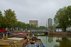 Scene in Rotterdam,Holland Stock Image