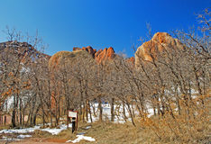 Scene at Roxborough Park Stock Photography