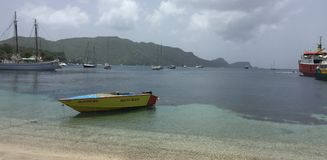 A scene from Saint Vincent and the Grenadines Royalty Free Stock Images