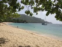 A scene from Saint Vincent and the Grenadines Royalty Free Stock Image