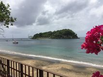 A scene from Saint Vincent and the Grenadines Royalty Free Stock Photo
