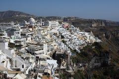 Scene in Santorini in Greece Royalty Free Stock Image