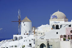 Scene in Santorini island, Greece Royalty Free Stock Photos
