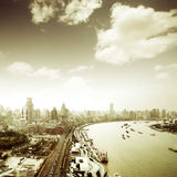 Scene of shanghai Royalty Free Stock Image