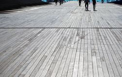 Floor of the boarded place. Scene of the sidewalk of the floor of the boarded place stock photos