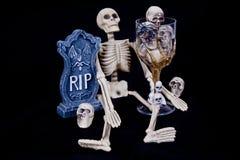 Scene spaventose di Halloween Fotografia Stock Libera da Diritti