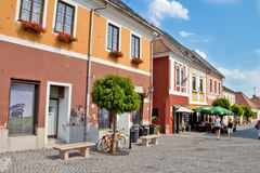 Scene  in ,Szentendre-Esztergom   Hungary Stock Photo