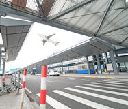 The scene of T3 airport building in beijing china. Stock Photography