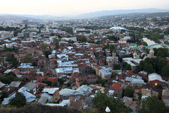 Scene of Tbilisi city Royalty Free Stock Images