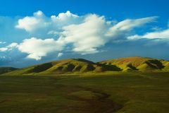 The scene of tibet. Looks very beautiful Royalty Free Stock Photo