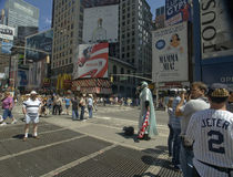 Scene at Time Square Royalty Free Stock Image