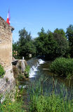 Scene at Verteuil-Sur-Charente Stock Photo